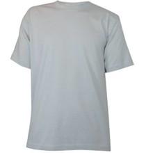 ♣ De goedkoopste grijze T-shirts! Grijze T-shirts met korte mouw en ronde hals (100% katoen)