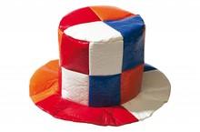 Funny Holland collectie 2017 │ Grote Holland oranje bob hoeden in de kleuren rood, wit, blauw en oranje