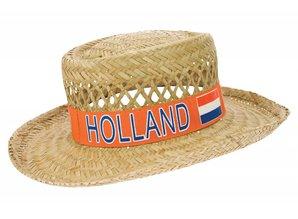 Funny Holland collectie 2018 │ Hier kunt u goedkope oranje Strohoeden met de tekst Holland kopen!