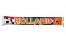 Funny Holland collectie 2018 │ Oranje Holland sjaals (sjaaltjes) met de tekst HOLLAND (afmeting 22 x 140 cm)