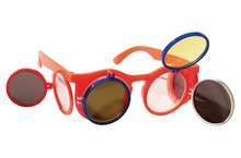 Funny Holland collectie 2018 │ Goedkope oranje Holland zonnebrillen met kleppen kopen!