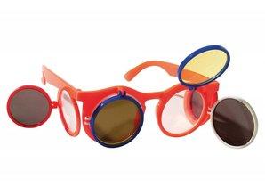 Funny Holland collectie 2018 │ Goedkope oranje Holland zonnebrillen met kleppen kopen?