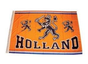 Funny Holland collectie 2017 │ Oranje Holland vlaggen met de tekst HOLLAND kopen?