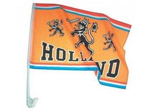 Funny Holland collectie 2018 │ Goedkope autoraam vlaggen kopen? Bij ons kunt u de goedkoopste oranje Holland autoraam vlaggen kopen en direct online bestellen. Opdruk: tekst Holland en afbeelding van de Hollandse Leeuw. Laat zien dat je een echte oranje fan bent!