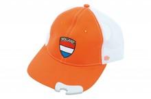 Funny Holland collectie 2017 │ Oranje Holland Baseballcaps voorzien van een flesopener