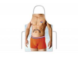 Funny Holland collectie 2018 │ Keukenschorten met een afbeeldiing van een Sexy Man!