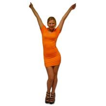 Funny Holland collectie 2018 │ Sexy oranje Holland Jurkjes (tevens te dragen als een T-shirt, leverbaar in one size)