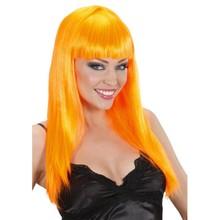 Funny Holland collectie 2018 │ Mooie oranje Pruik kopen met extra lange oranje haren?