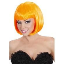 Funny Holland collectie 2018 │ Mooie oranje bob line Pruik kopen met oranje haar?
