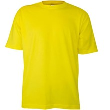 ♣ 100% katoenen gele kinder T-shirts