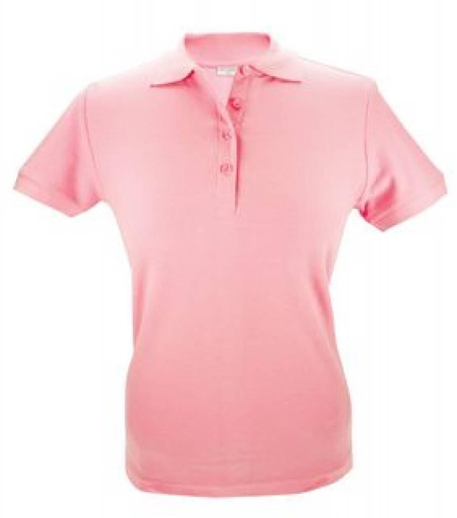Poloshirt Dames Wit