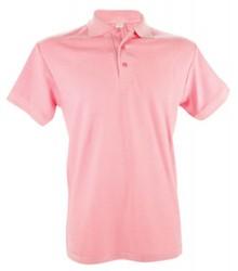 ♣ Heren Poloshirts (polo pique) in de kleur roze (verkrijgbaar in de maten S, M, L, XL, XXL)