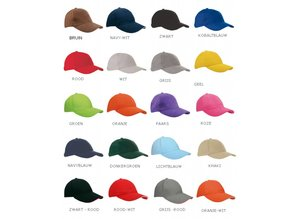 ♣ Hier kunt u goedkope zwarte Heavy Brushed Baseballcaps kopen!