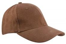 ♣ Baseballcaps voor volwassenen in de kleur bruin