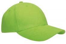 ♣ Baseballcaps voor volwassenen in de kleur lichtgroen