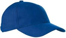 ♣ Baseballcaps voor volwassenen in de kleur kobaltblauw