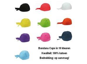 ♣ Hier kunt u goedkope lichtblauwe bandanacaps kopen!