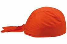 Goedkope bandana's in de kleur oranje (geschikt voor kinderen en volwassenen)
