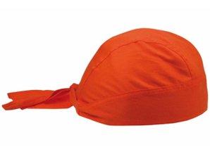 Bij ons kunt u goedkope oranje bandanacaps kopen!