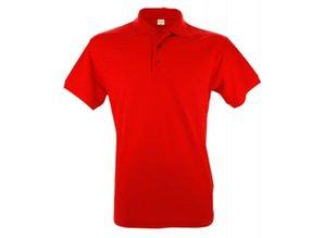 Goedkope Poloshirts kopen? Heren poloshirts (polo pique) in de kleur oranje (S t/m XXL)