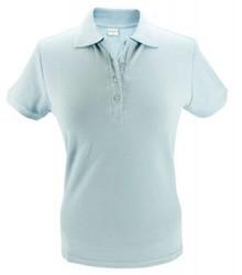 ♣ Goedkope lichtblauwe dames Poloshirts!