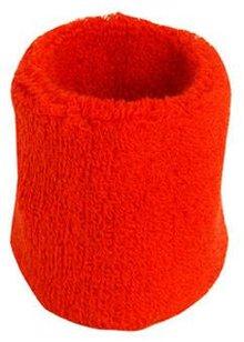 ♣ Rode elastische badstof polsbandjes (geschikt voor borduring van een logo en/of tekst)
