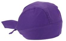 ♣ Bandana's in de kleur paars (geschikt voor kinderen en volwassenen)