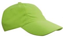 ♣ Baseballcaps voor kinderen in de kleur lichtgroen