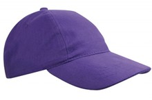 ♣ Baseballcaps voor kinderen in de kleur paars