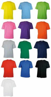 ♣ T-shirts met korte mouw en ronde hals (100% katoen)