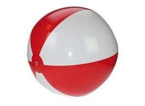 ♣ Goedkope middelgrote opblaasbare groen-witte strandballen kopen?