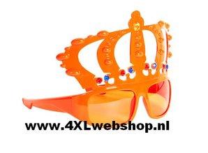 Funny Holland collectie 2018 │ De goedkoopste oranje Koningsbrillen met kroon kopen?