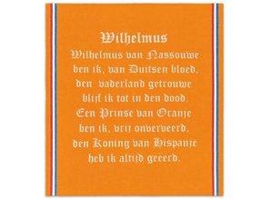 Funny Holland collectie 2018 │ De goedkoopste oranje katoenen theedoeken met de tekst van het hele Wilhelmus kopen?