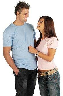 ♣ Lady fit! Supermooie dames T-shirts (modieus uitgesneden, getailleerd, 100% katoen)