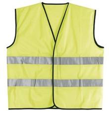 ♣ Gecertificeerde veiligheidshesjes met reflecterende strepen
