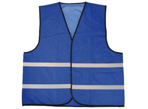 ♣ Goedkope blauwe reflecterende veiligheidshesjes kopen? Bij ons kunt u goedkope reflecterende veiligheid hesjes in verschillende kleuren kopen en direct online bestellen! Op de voor- en de achterzijde kunt u eventueel een logo of een tekst aan laten brenge
