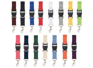 ♣ Goedkope Lanyards kopen in 15 verschillende kleuren?
