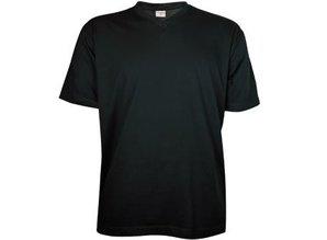 ♣ Goedkope donkerblauwe T-shirts met V-hals kopen en bestellen?