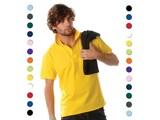 ♣ 100% katoenen heren Poloshirts (polo pique)