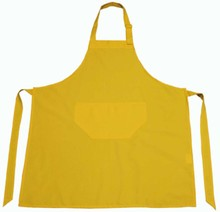 ♣ Professionele keukenschorten in de kleur geel