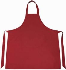 ♣ Professionele keukenschorten in de kleur bordorood (kleurecht)