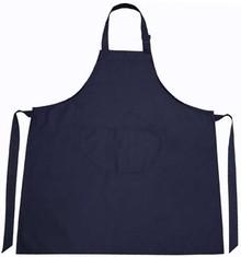 ♣ Professionele keukenschorten in de kleur donkerblauw (kleurecht)