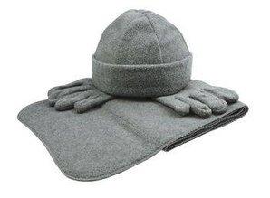 ♣ Goedkope Fleecesets (sjaal, muts, handschoenen) kopen? Bij ons kunt u goedkope Fleecesets (sjaal, muts, handschoenen) in geschenkverpakking kopen!