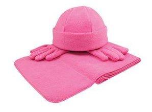 ♣ Goedkope Fleecesets (sjaal, muts, handschoenen) kopen?
