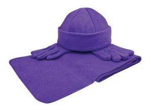 ♣ Fleece Winter sets (sjaal, muts, handschoenen) kopen? Bij ons kunt u goedkope Fleecesets (sjaal, muts, handschoenen) in geschenkverpakking kopen! Maak uw relaties en/of medewerkers blij met deze leuke set!