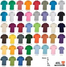 ♣ 100% katoenen Fair Trade T-shirts met korte mouw en ronde hals
