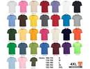 ♣ 100% katoenen Fair Trade T-shirts (met korte mouw en ronde hals)