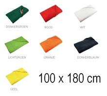 ♣ Goedkope strandlakens (afmeting 100 x 180 cm) in verschillende kleuren leverbaar
