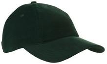 ♣ Katoenen Baseballcaps voor volwassenen in de kleur donkergroen