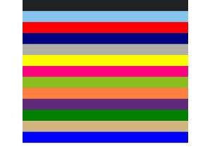 ♣ Goedkope Strohoeden met een gekleurde elastisch bandje kopen?